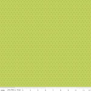 Riley Blake Designs, Glamper Geometric, Green, C6314-Green