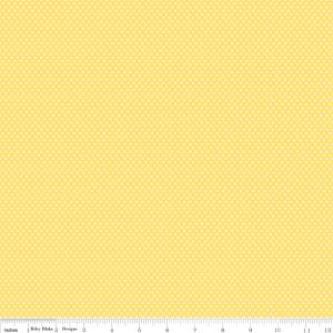 Penny Rose Fabrics, Toy Chest 3, Toy Dot, Yellow, C6763-Yellow