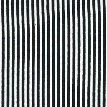 Michael Miller Fabrics, Little Stripe, CX6574-Blac-D, Black