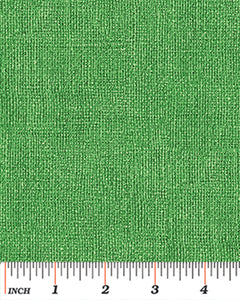 Benartex, Dover Hill, Burlap, Bright Green,757-43