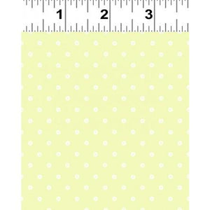 Clothworks, You're All My Favorites, Small Dot, Light Green, Y2460-18