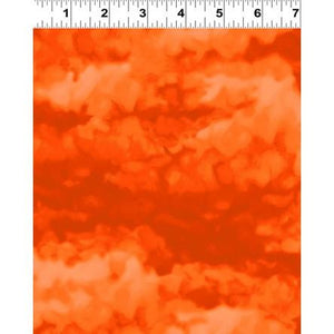 Clothworks, Misty, Dark Orange, Y2539-37