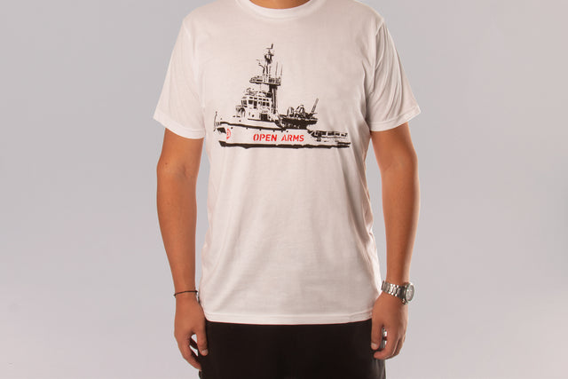 Camiseta barco Open Arms