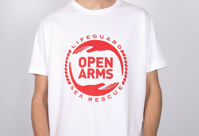 Camiseta logo Open Arms