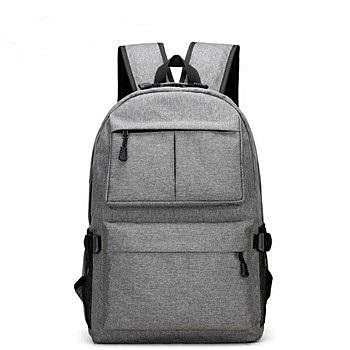 School Backpack with USB Charging Port