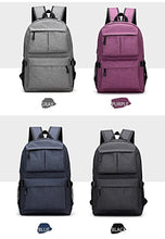 USB Charging School Backpack