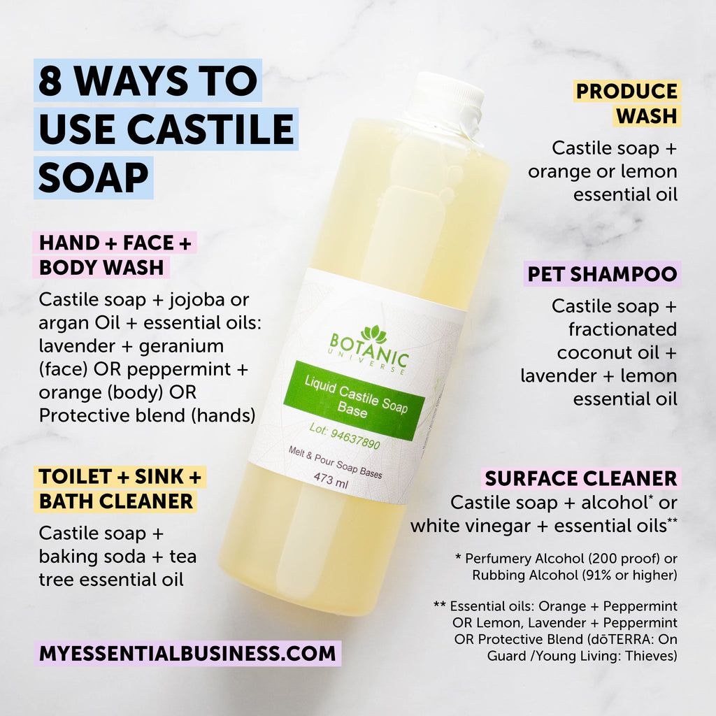 8+ Ways to Use Castile Soap