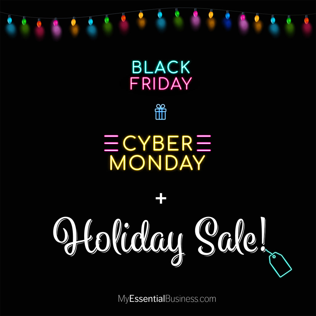 What to Expect for Black Friday and Cyber Monday!