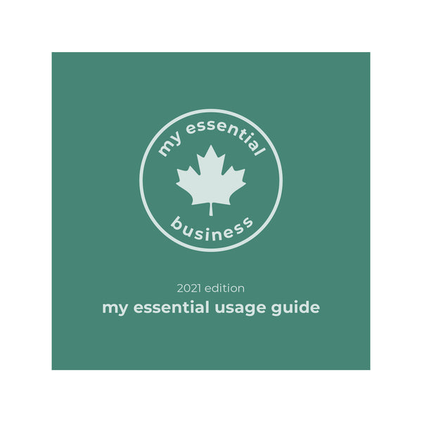 My Essential Usage Guide: 2021 Edition (Print Pre-Order)