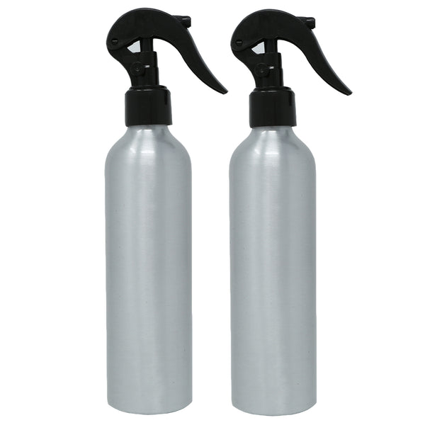 250ml Aluminum Bottle with Black Mini Trigger