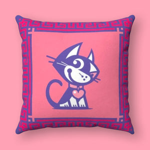 BETTY BAD KITTY PILLOWS