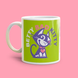 BETTY BAD KITTY MUGS