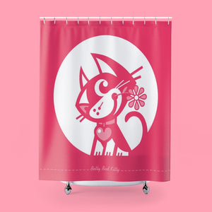 BETTY BAD KITTY SHOWER CURTAINS