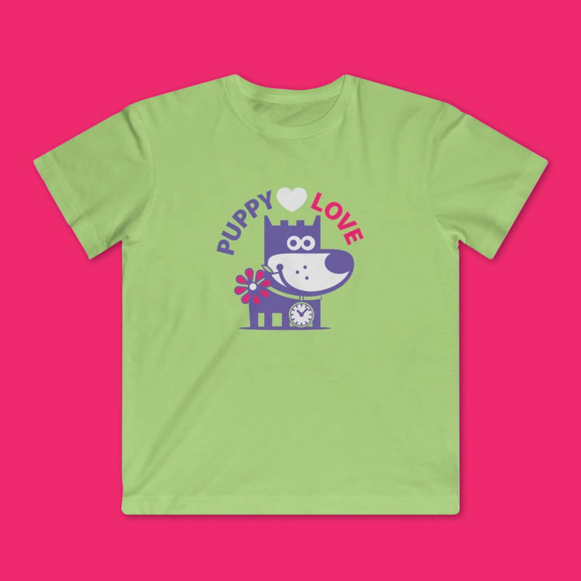 GOOD PUPPY KIDS' TEES
