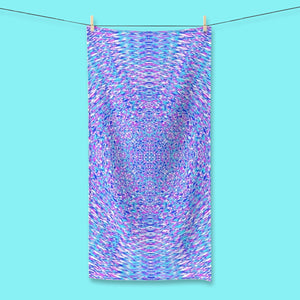 GEOMETRIC RESONANCE TOWELS