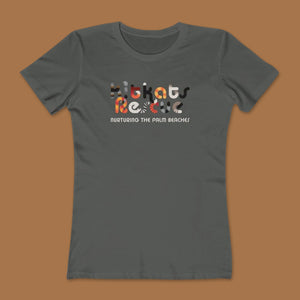 KitKats Rescue Color Logo Women's Cotton Boyfriend Tees
