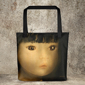 Doll Face Fine Art Print Tote Bags