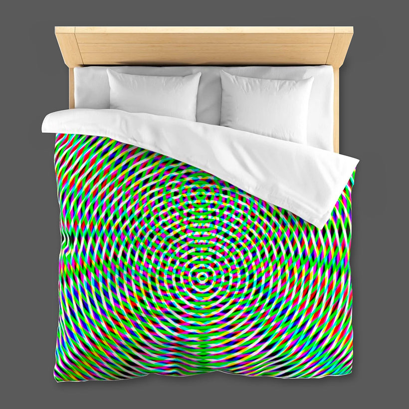 GEOMETRIC RESONANCE LINENS