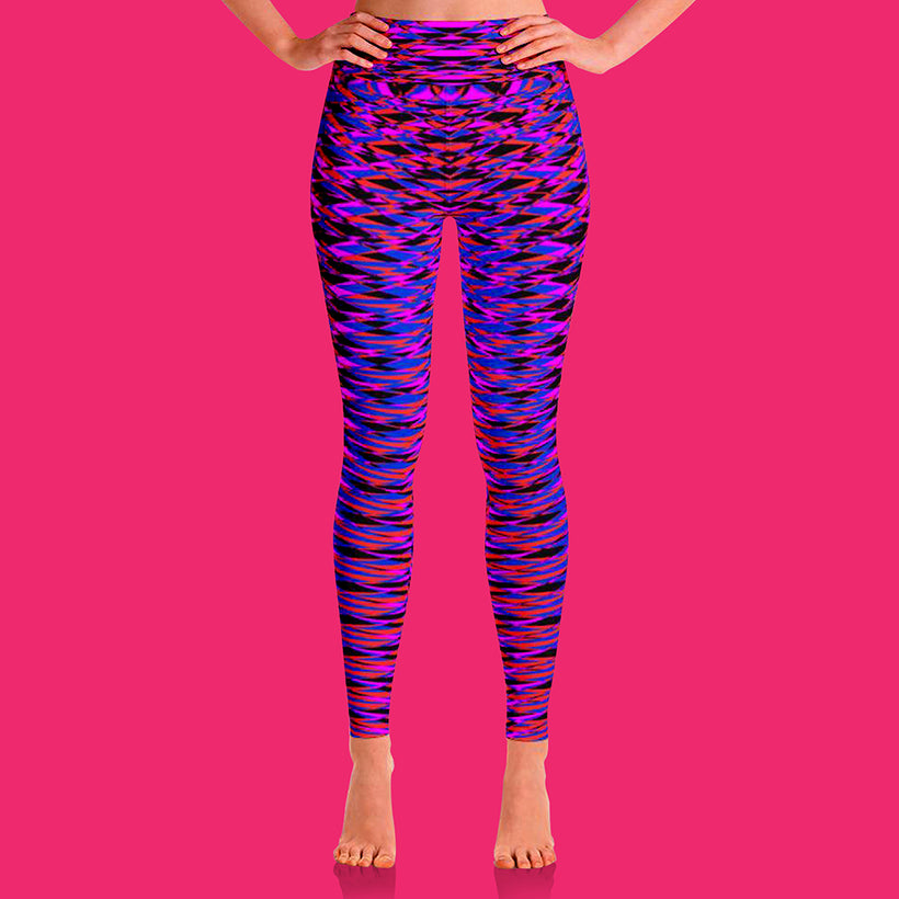 GEOMETRIC RESONANCE LEGGINGS