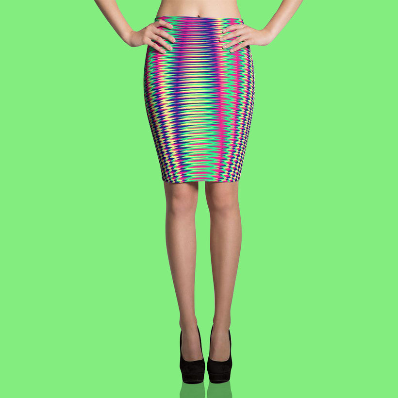 GEOMETRIC RESONANCE SKIRTS