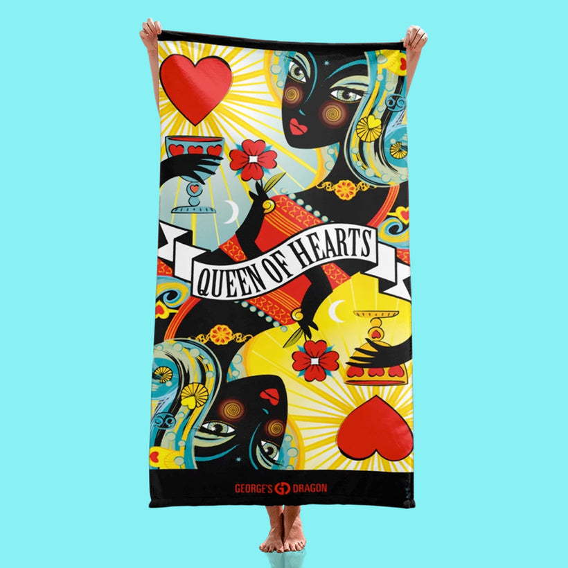 STACK THE DECK BEACH TOWELS