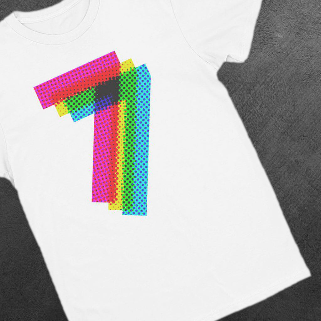 Georges Dragon Googol Graphic Number Three . Digits Tees