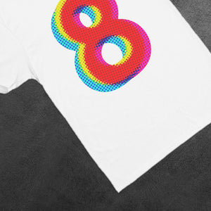 Number Eight Graphic Tees Number 8