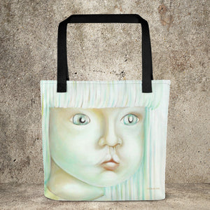 Georges Dragon . Marina Di Meta . Art Print . Oil on Canvas Printed Bags