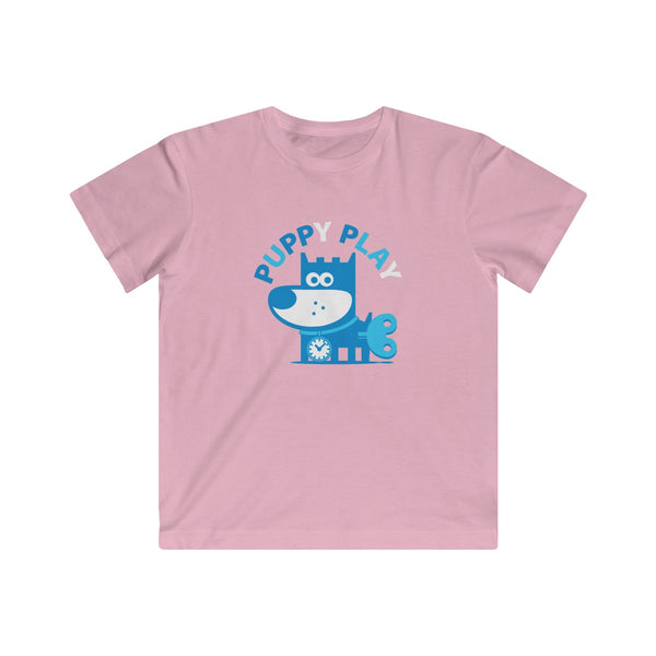 Puppy Play I . Kids Fine Jersey Tee