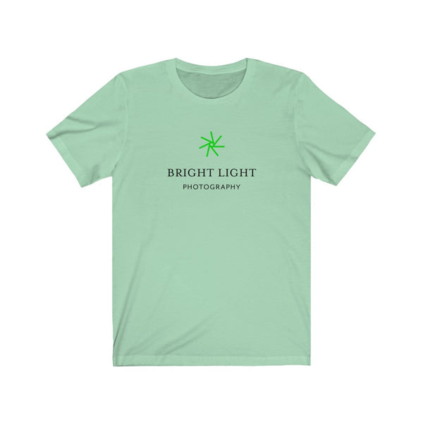 Bright Light . Original Logo . Unisex Jersey Short Sleeve Tee