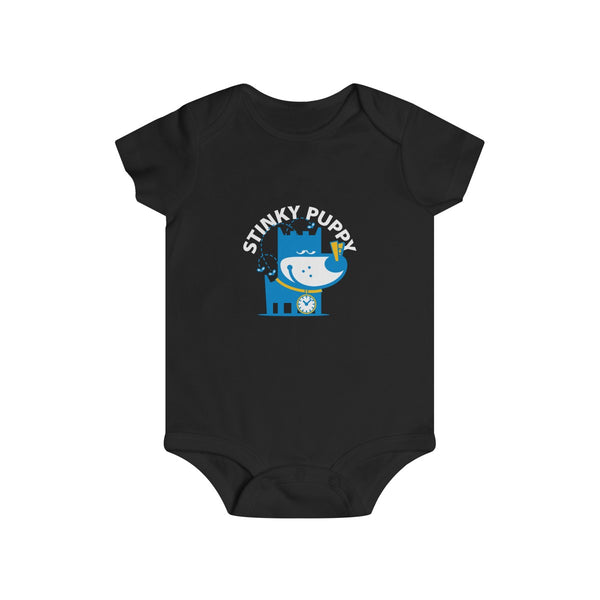 Stinky Puppy I . Infant Rip Snap Tee