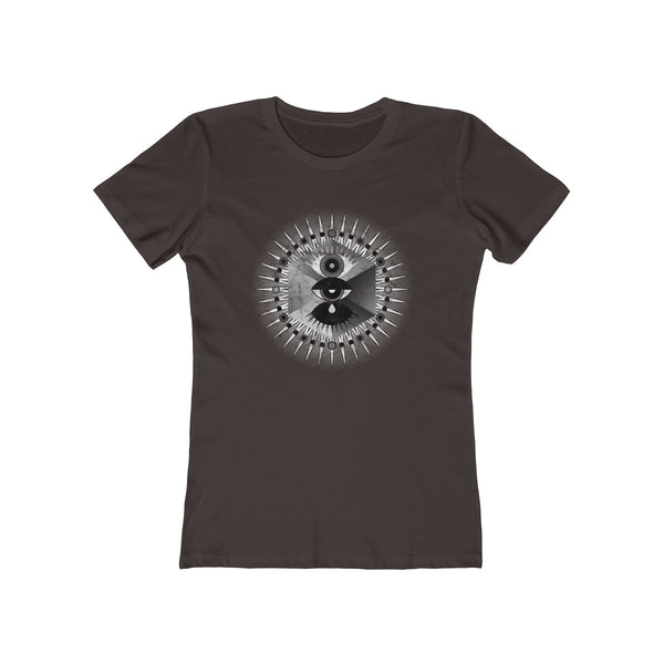 Metatron . Illumination . Women's The Boyfriend Tee . Gift . PLANE-T . Meta