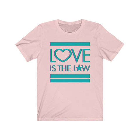 GEORGE'S DRAGON . Love Is The Law II . Unisex Jersey Short Sleeve Tee