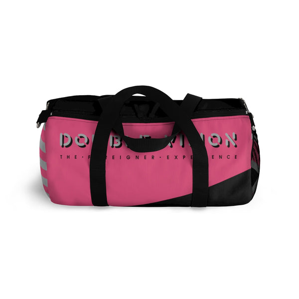 Double Vision . Pink & Black . Duffel Bag