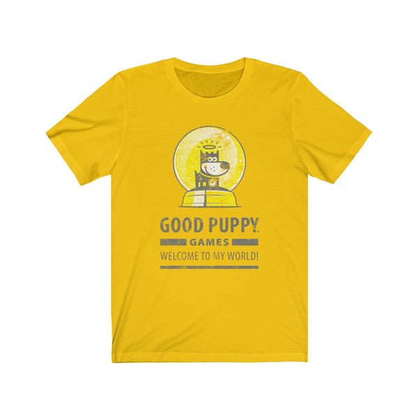 GOOD PUPPY VINTAGE . Games III . Unisex Jersey Short Sleeve Tee