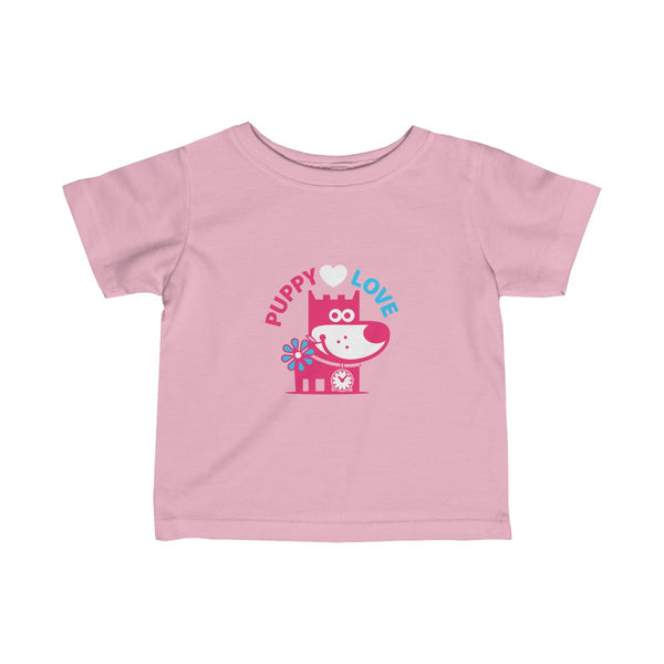 Puppy Love III . Infant Fine Jersey Tee