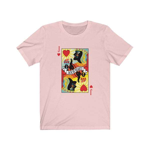 GEORGE'S DRAGON . Stack The Deck . Jack Of Hearts . Unisex Jersey Short Sleeve Tee