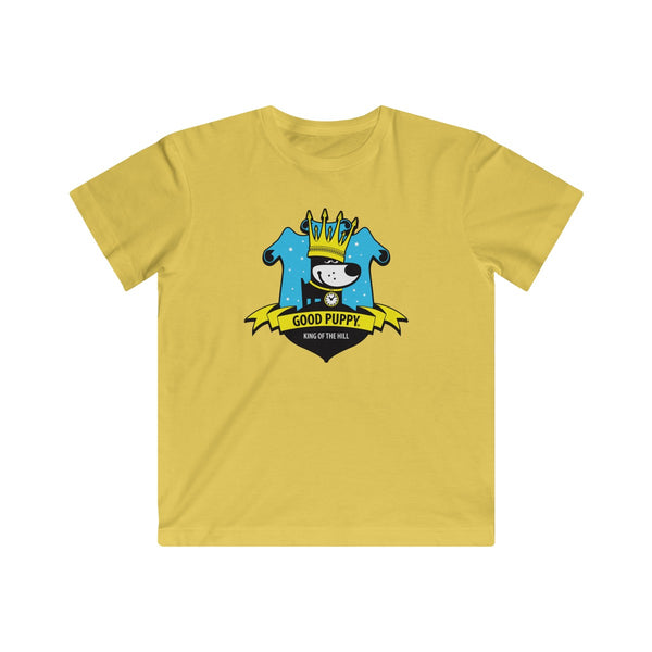 King Of The Hill . Original Print . Kids Fine Jersey Tee