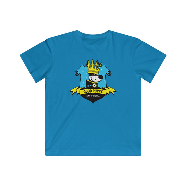 GOOD PUPPY King Of The Hill . Kids Fine Jersey Tee