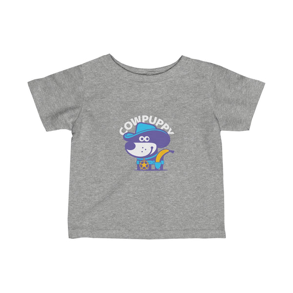 Cow Puppy II . Infant Fine Jersey Tee
