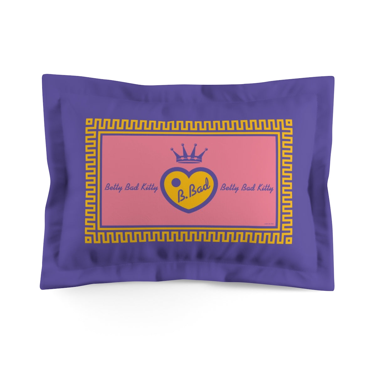 Betty Bad Kitty . Pop IV . Logo . Pillow Sham