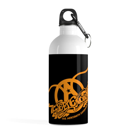 Sweet Emotion . Orange Logo . Stainless Steel Water Bottle