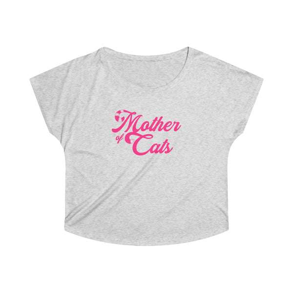 Mother Of Cats . Pink . Women's Dolman