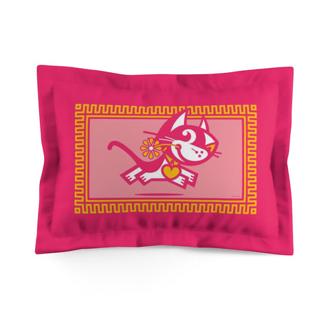 Betty Bad Kitty . Pop III . Kitty . Pillow Sham