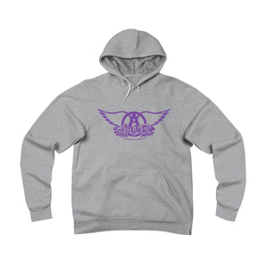 Sweet Emotion . Purple Logo . Unisex Sponge Fleece Pullover Hoodie