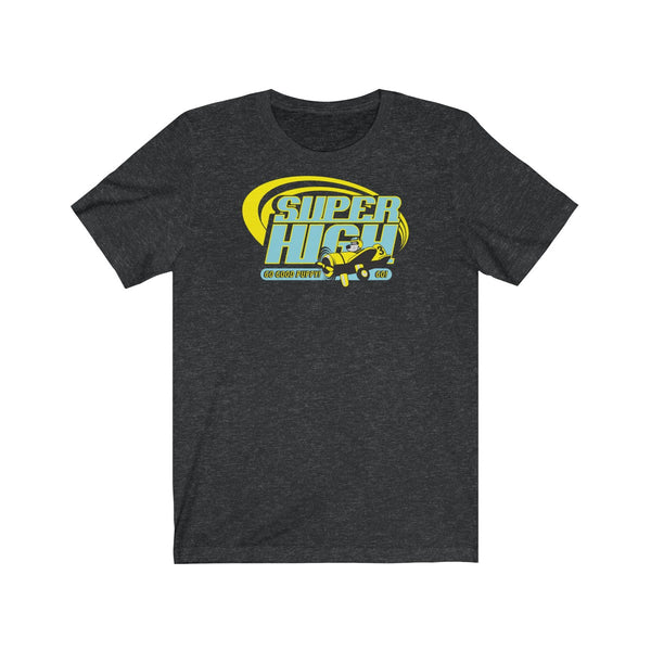 Super High . Duo Print . Unisex Cotton Tee