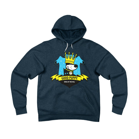 GOOD PUPPY VINTAGE . King Of the Hill . Original Print . Unisex Sponge Fleece Pullover Hoodie