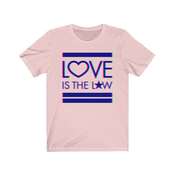 Love Is The Law I . Unisex Cotton Tee