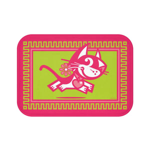 Betty Bad Kitty III . Small Bath Mat