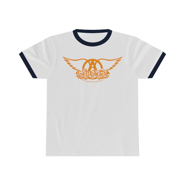 Sweet Emotion . Orange Logo . Unisex Ringer Tee